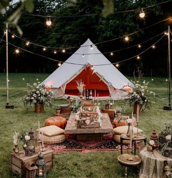 Dinner Party, Bohemian Tent, Boho Setup, Lunch, Picnic, Earthy,